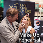 14th Athens Exclusive Designers Week - MakeUp Rehearsal