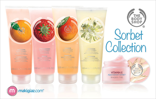 The Body Shop – Sorbet Collection (english article