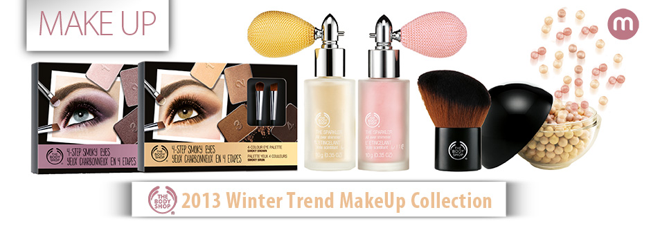 The Body Shop - 2013 Winter Trend MakeUp Collection