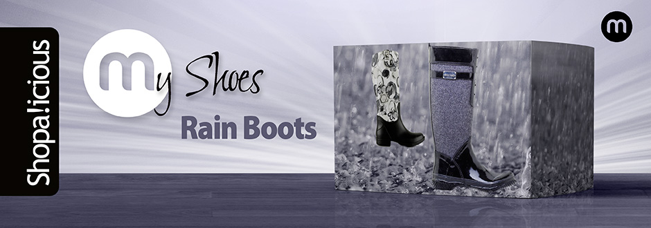 My Shoes - Rainboots